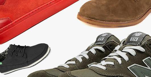 Мужская обувь: ТОП-20 летних хитов сезона