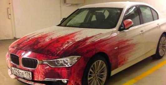 Авто-убийцы: 15 самых странных раскрасок