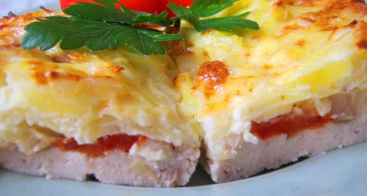 Мужской рецепт: запеченная курица под тертой картошкой