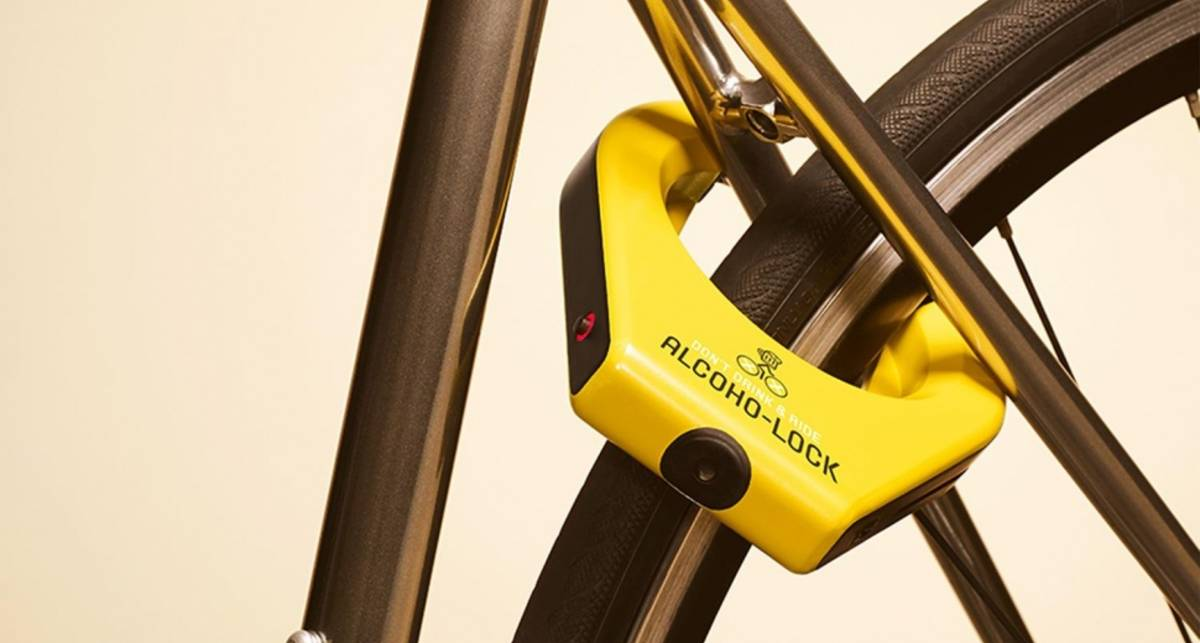 Alcoho-Lock: создан замок для пьяных велосипедистов