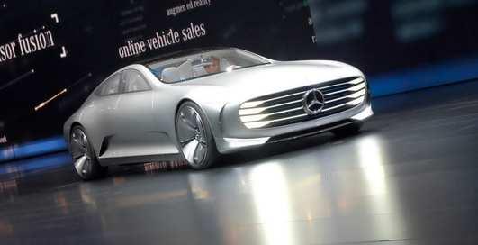 Самолет на колесах: Mercedes-Benz представили концепт будущего