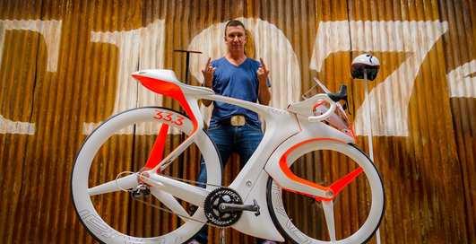 На зло всем: создан велосипед, который никогда не пустят в гонку