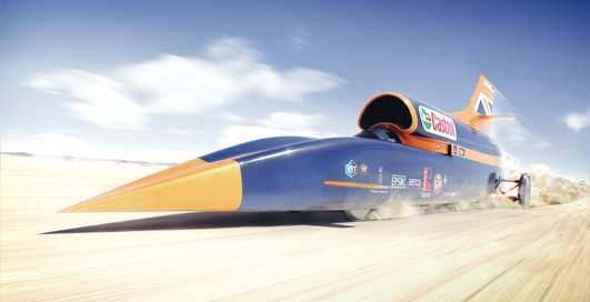 1600 км/ч: как выглядит самый быстрый автомобиль в мире