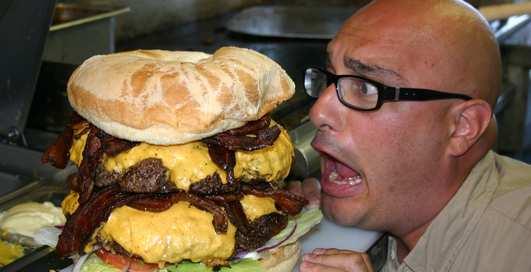 Гамбургер XXL: 8 фото мужских бутербродов