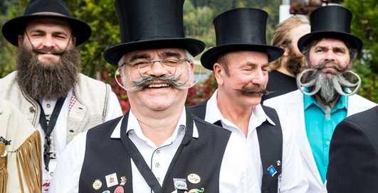 Мировой чемпионат бородачей и усачей: выбрана щетина года