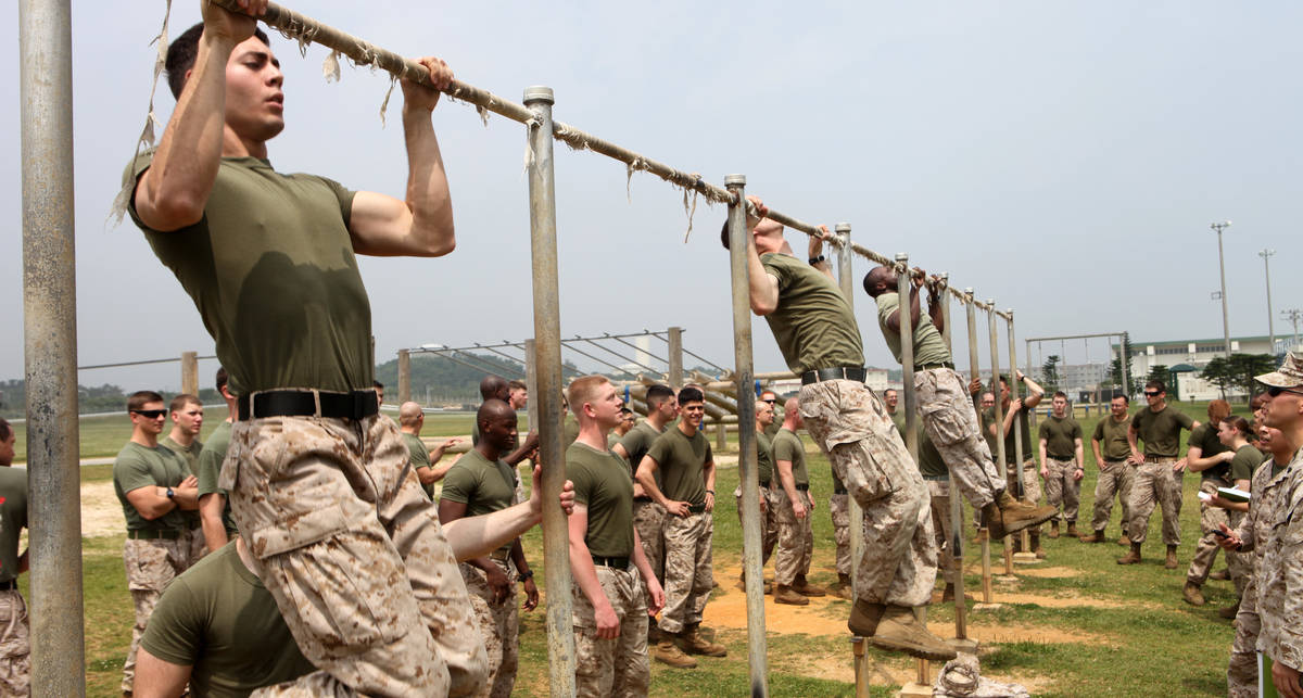Как подтянуться 20 раз: программа тренировок морпеха из США