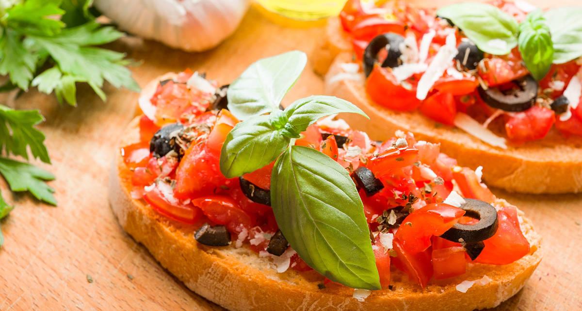 Брускетта за 5 минут: простой рецепт итальянской закуски