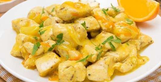 Мужской рецепт: куриное филе в апельсиновом соусе