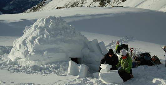 Заройся в снег: школа выживания при температуре ниже нуля
