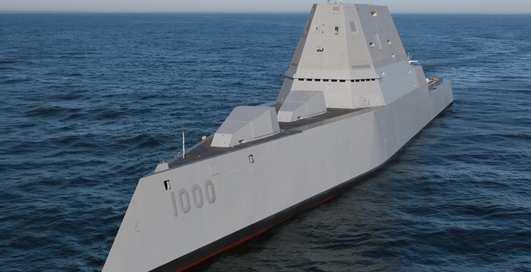 USS Zumwalt: гроза ВМС США вышла на учения
