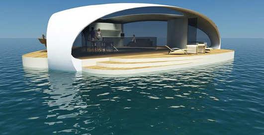 Вилла на воде: фото апартаментов будущего