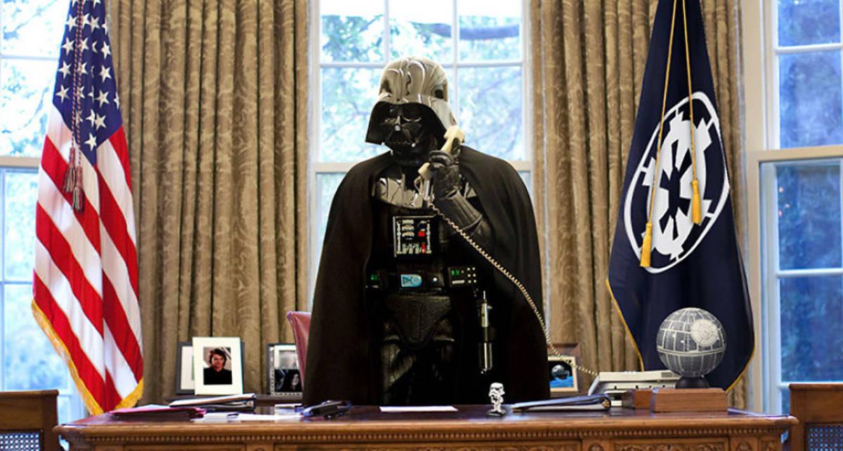 Звездные Войны в политике: если бы Дарт Вейдер был Бараком Обамой