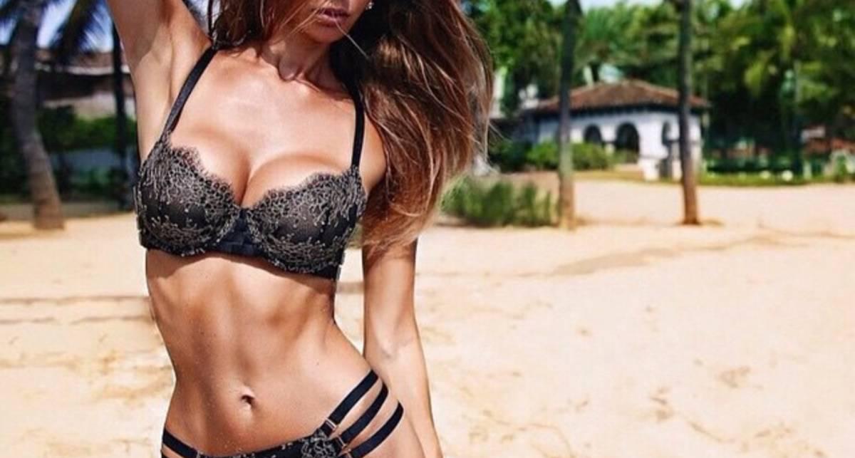Красотка дня: российская модель Лилия Ермак