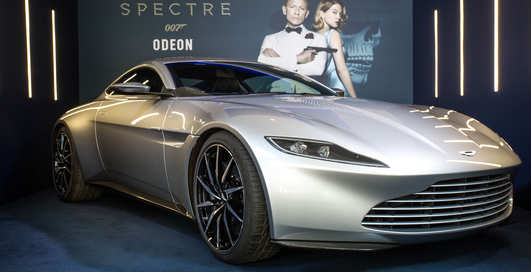 Aston Martin DB10: авто Джеймса Бонда выставили на продажу