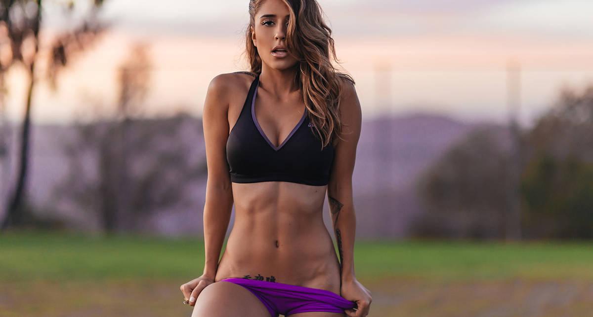 Красотка дня: фитнес-модель Тианна Грегори