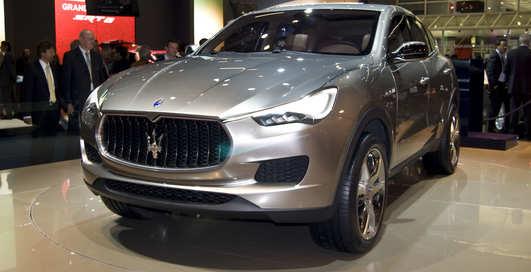 Maserati представили первый кроссовер в истории компании