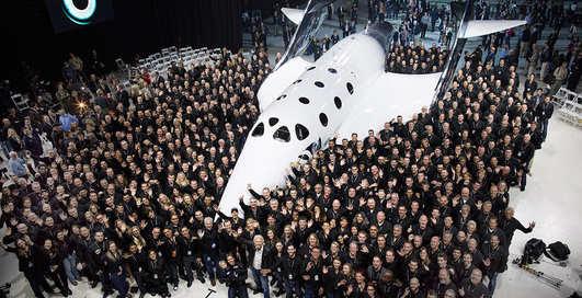 Космический туризм: Virgin Galactic представили корабль для путешествий