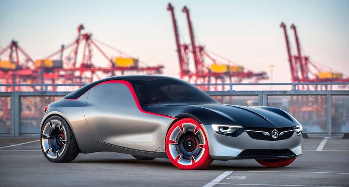Opel GT: немцы представили стильный концепт