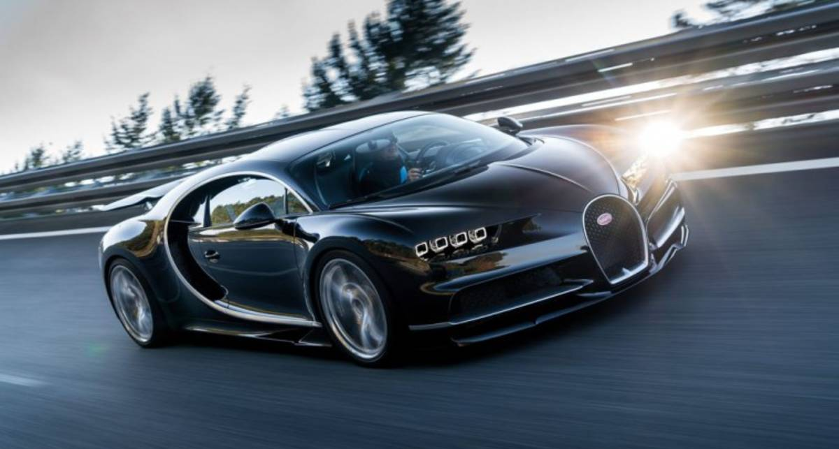 Bugatti Chiron: на Женеве показали 1500-сильную лошадку