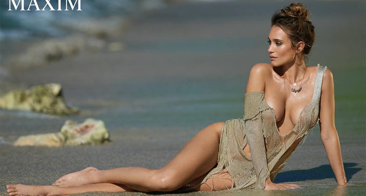Ханна Дэвис: фэшн-красотка разделась для Maxim