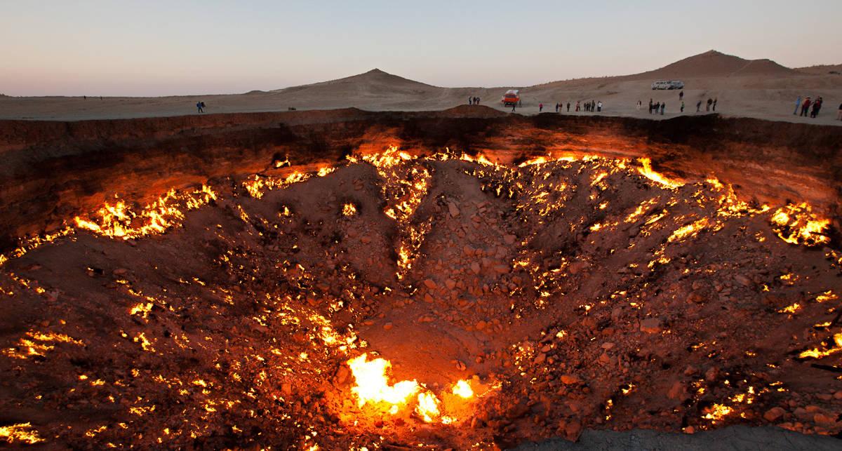 Горят вечно: 10 пылающих мест на планете