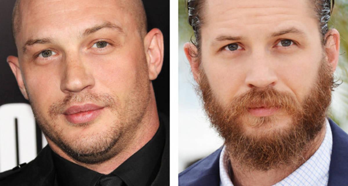 Фото знаменитостей с бородой и без
