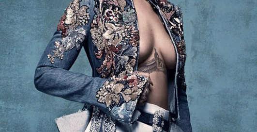 Рианна уже не та: странная фотосессия певицы для Vogue