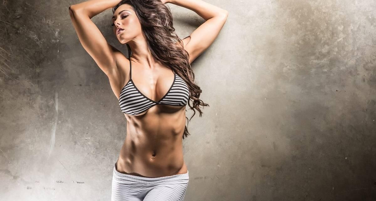 Красотка дня: техасская фитнес-модель Хоуп Бил