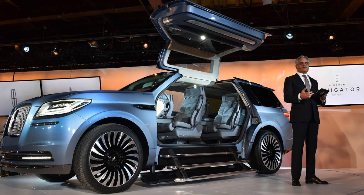 Lincoln Navigator: новый концепт премиального внедорожника