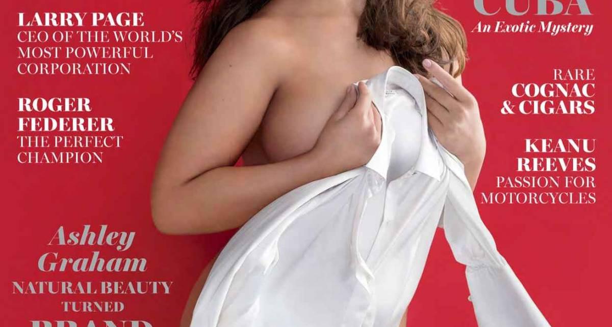 Эшли Грэхэм: модель plus-size попала на обложку Maxim