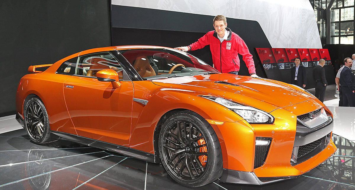 Nissan GT-R: первые фото обновленного спорткара
