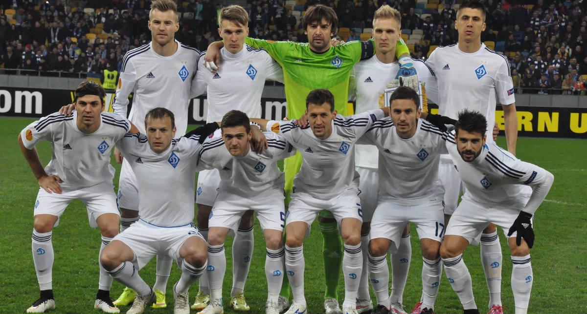 Динамо Киев: как питаются наши футболисты