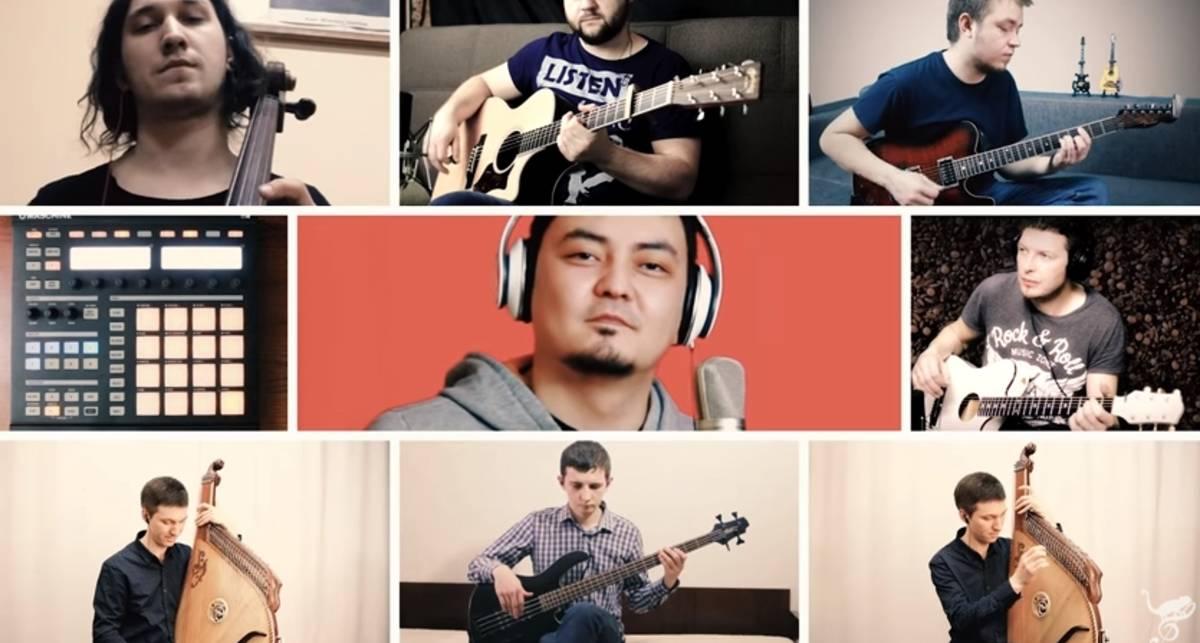 Музыканты трех стран перепели хит группы Океан Ельзи