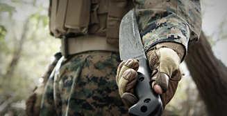 Военные ножи американских солдат
