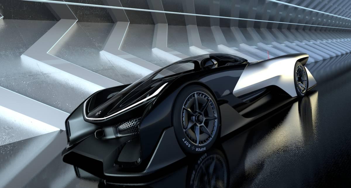 FFZero1: 1000-сильный электрокар Пекинского автошоу