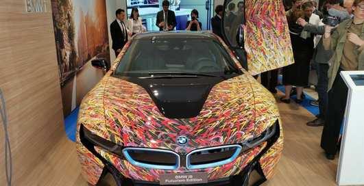 Обклеенный BMW i8: итальянцы обновили дизайн гибрида