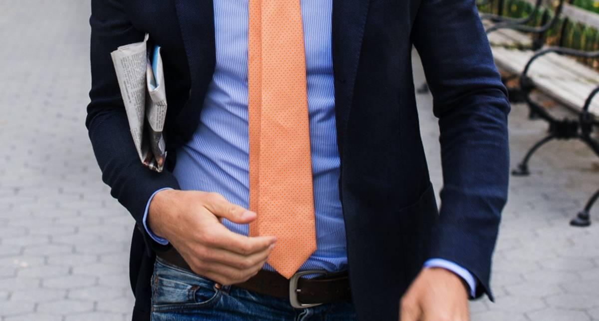 Джинсы и пиджак: гид по правильному сочетанию