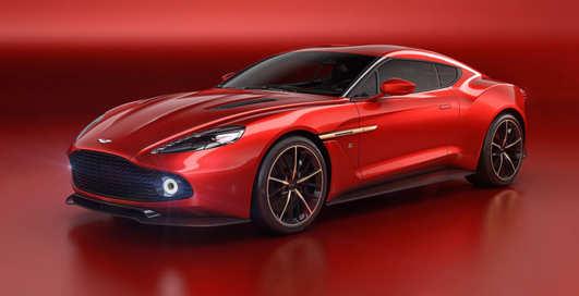 Самый красивый автомобиль года: Aston Martin Vanquish Zagato