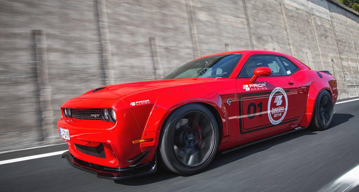 Пять самых крутых тюнингованных авто 2016