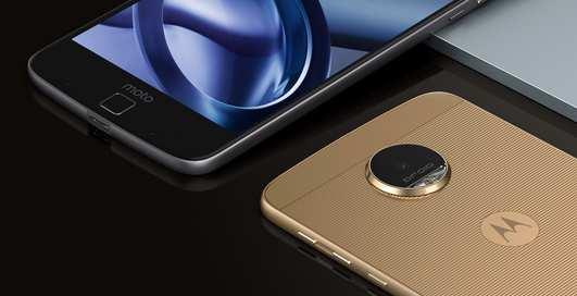 Moto Z: самый тонкий смартфон в мире