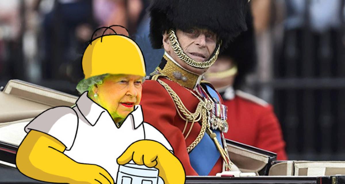 День рождения Елизаветы II: смешные фото наряда королевы
