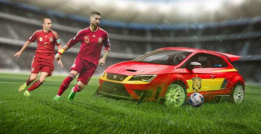Евро 2016: как должны выглядеть авто футбольных команд