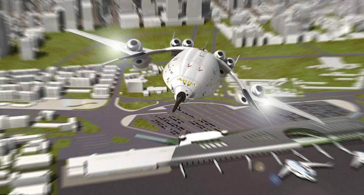 Создан самолет, который пересечет Атлантику за три часа