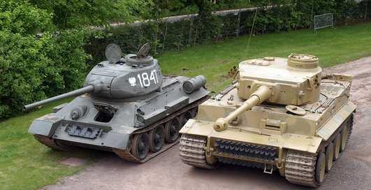Курская битва: фото танков величайшего сражения
