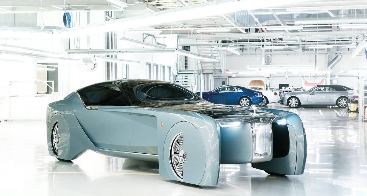Rolls-Royce 103EX: элитный концепт без руля и педалей