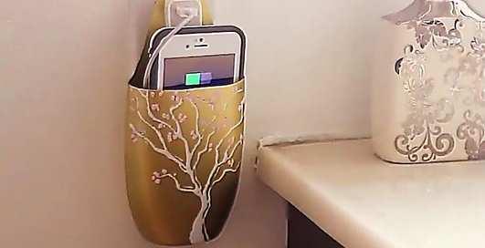 Как сделать удобную зарядку для iPhone