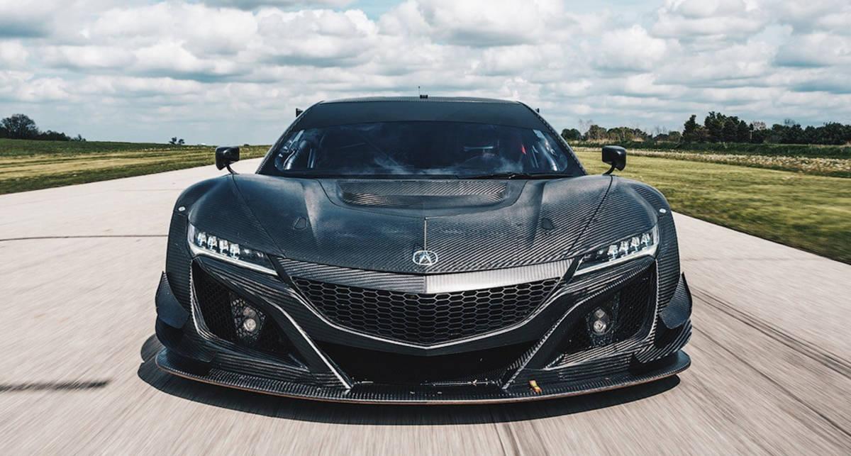 Пластиковая Acura: японцы построили суперкар из карбона