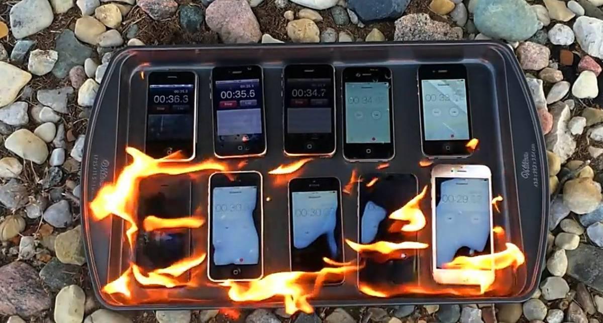 Сжечь десять iPhone: кто выживет в пламенном тесте