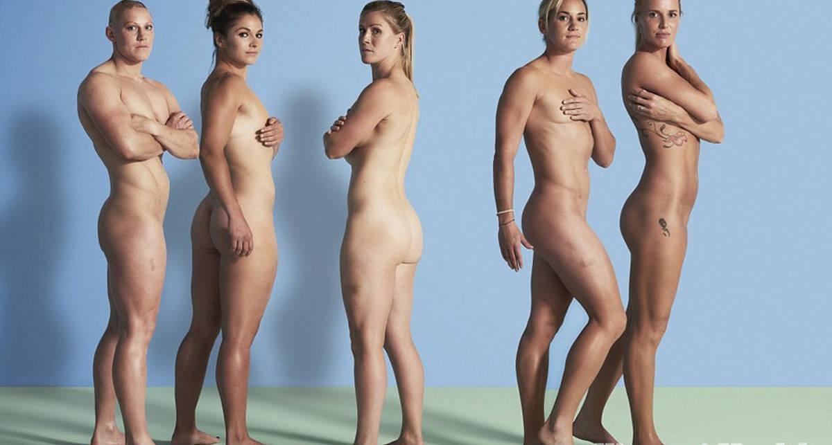Британские регбистки разделись для Women's Health