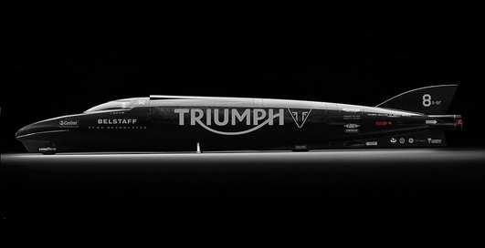 Британцы спроектировали самый быстрый мотоцикл в мире